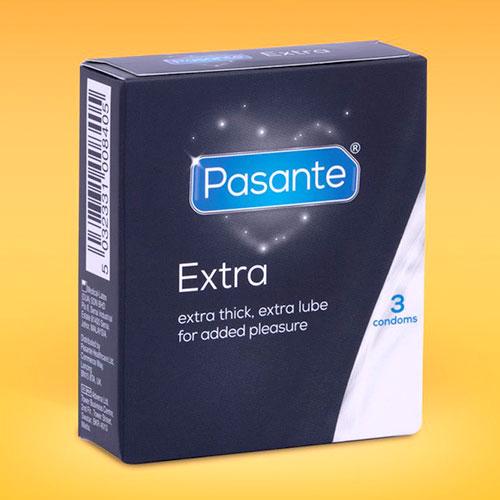 Extra thick condoms.