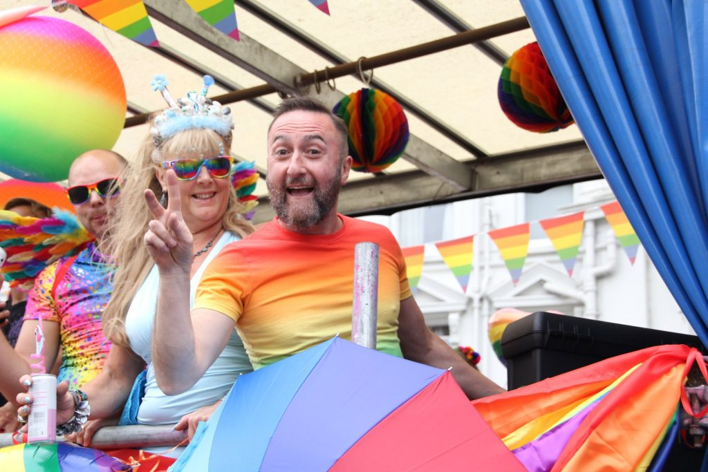 Bourne Free is Bournemouth's LGBT Pride Festival.