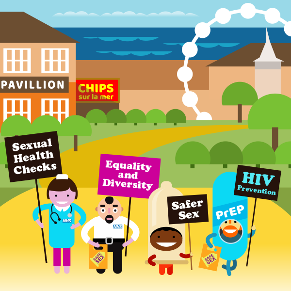 Over the Rainbow information and support for lesbian, gay and trans people. The Heart and Health of LGBTQ+ Bournemouth, Weymouth and Dorset.